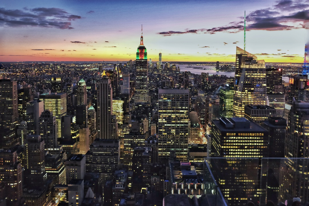 a view of manhattan from rockfeller center under a creative commons 0 license from unsplash.com